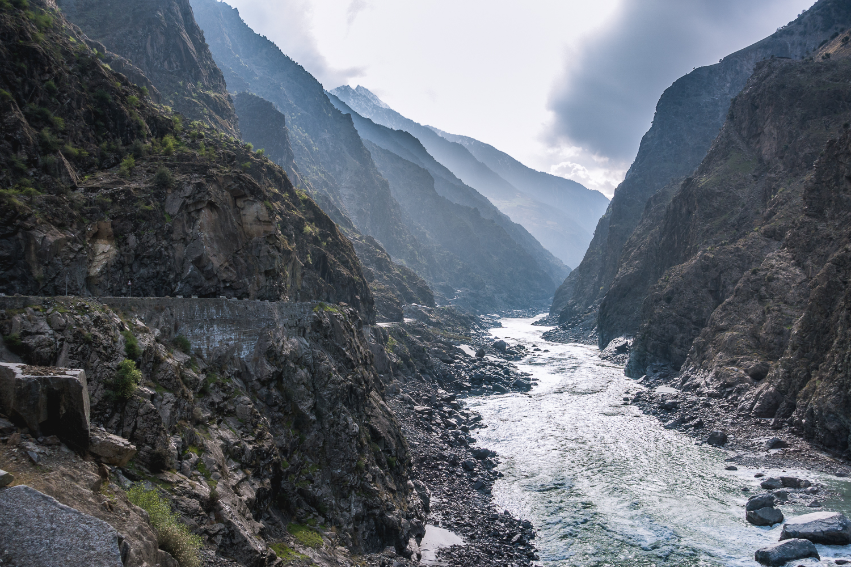 Indus im Hunzatal