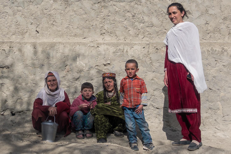 Familie im Hunza Tal