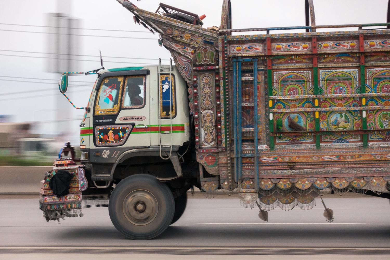 Pakistanischer LKW